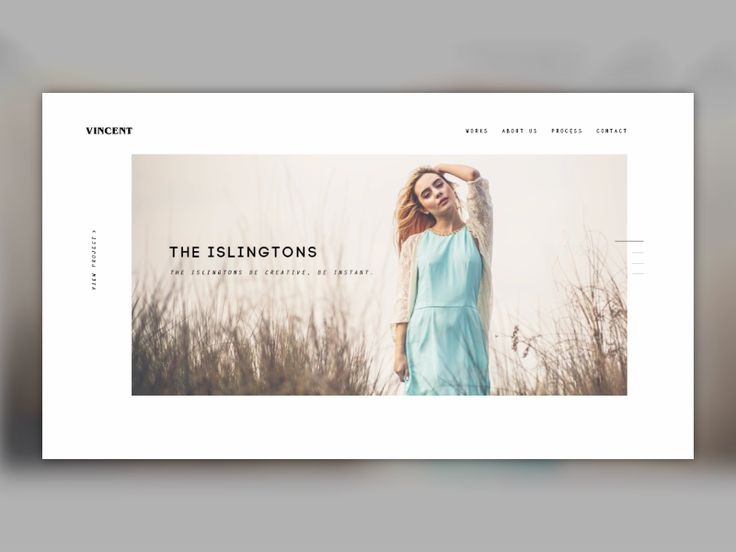 Homepage - Vincent
