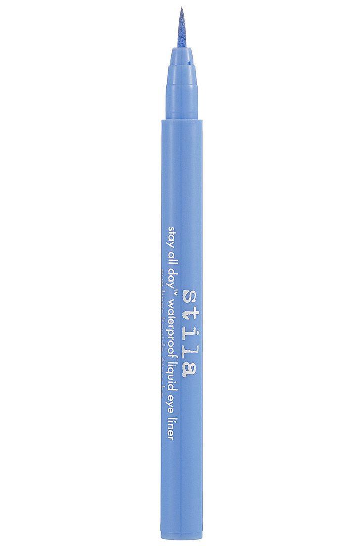 Stila Stay All Day Waterproof Liquid Eye Liner in Periwinkle, $20; sephora.com   - ELLE.com