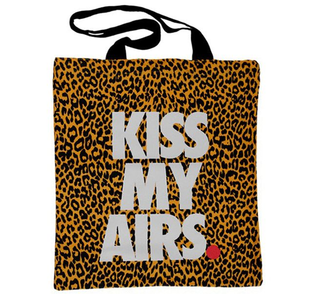 """Kiss My Airs"" Nike Tote Bag x Overkill"
