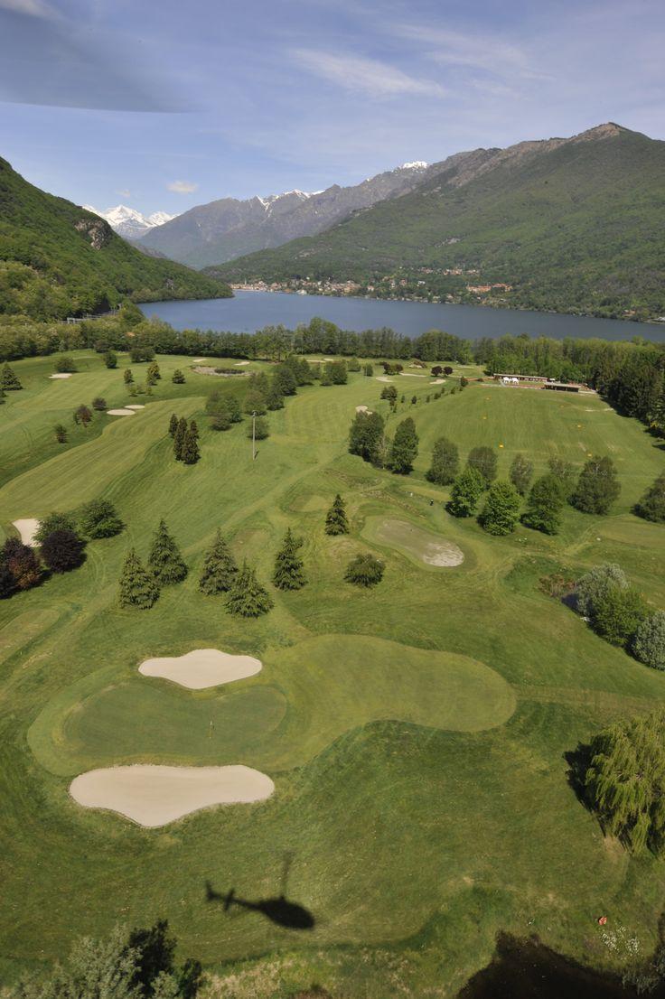 Golf Verbania - Lake Maggiore and Alps view