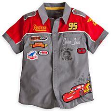 Lightning McQueen Shirt for Boys