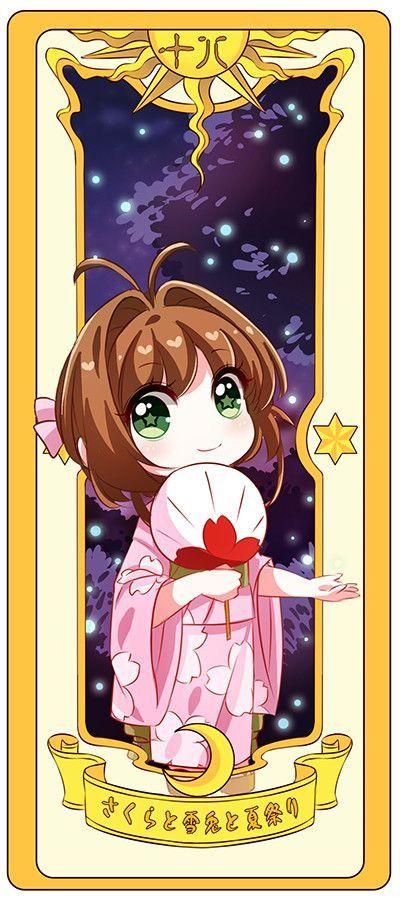 Sakura y la carta del brillo✨