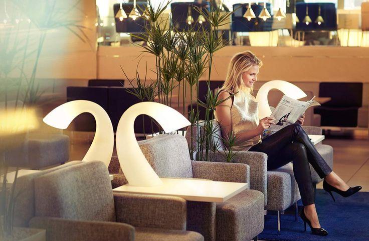Finnair Lounge designed by dSign Vertti Kivi & Co www.dsign.fi