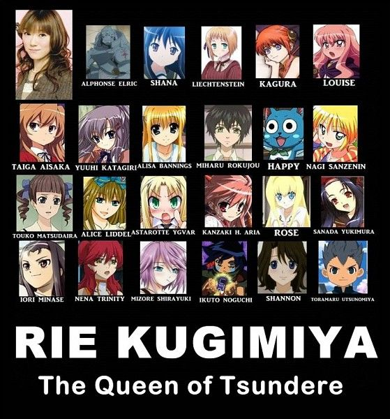 anime tsundere Boy | Anime voice actor; rie kugimiya