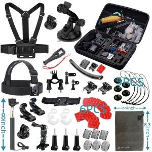 9.Top 10 Best Accessories Starter Kit for Gopro Reviews in 2016