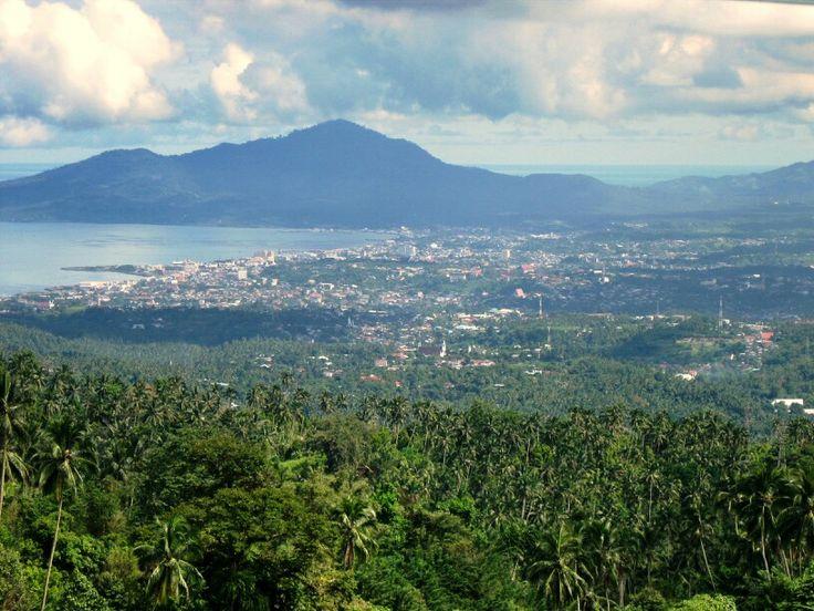Manado view frm tomohon