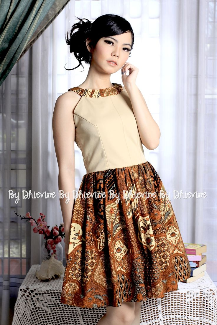 Sasmita Batik Sekarjagad Dress | DhieVine | Redefine You