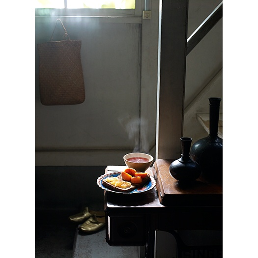 Tokyo Breakfast, photo by Aya Brackett via http://ayabrackett.com/