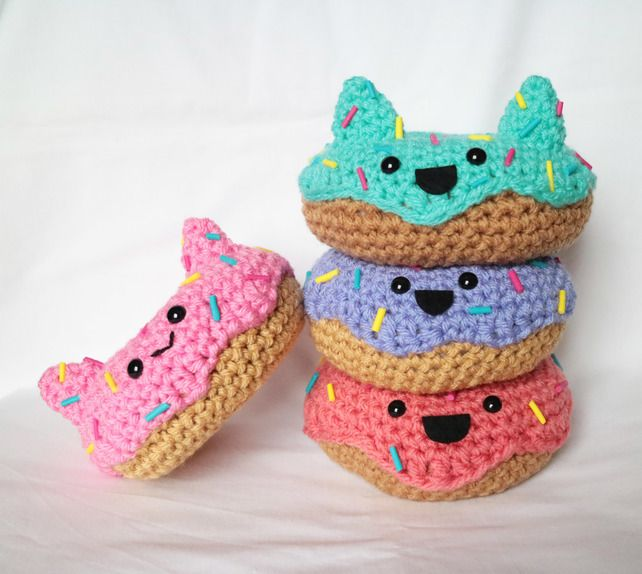 Amigurumi Donut : 36 best ideas about Kawaii and Cute on Pinterest Fruits ...