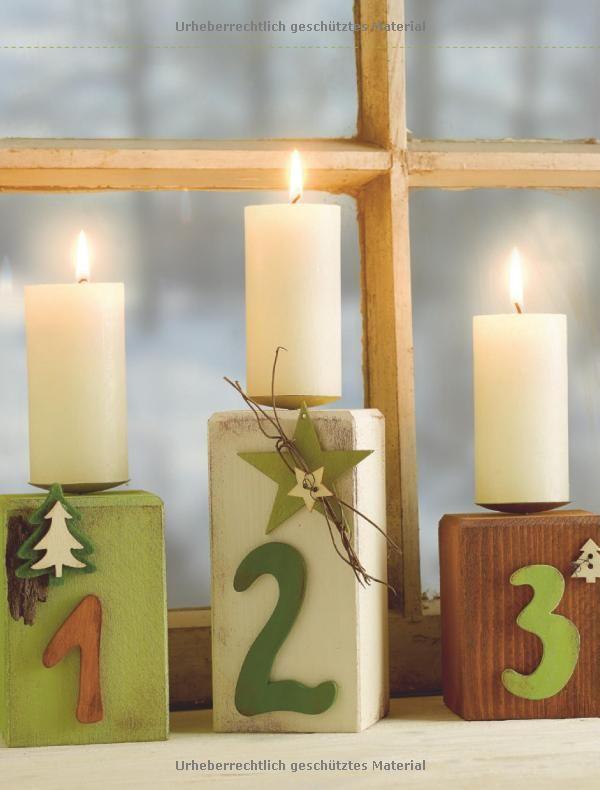 ber ideen zu weihnachtliche holzpfosten auf. Black Bedroom Furniture Sets. Home Design Ideas