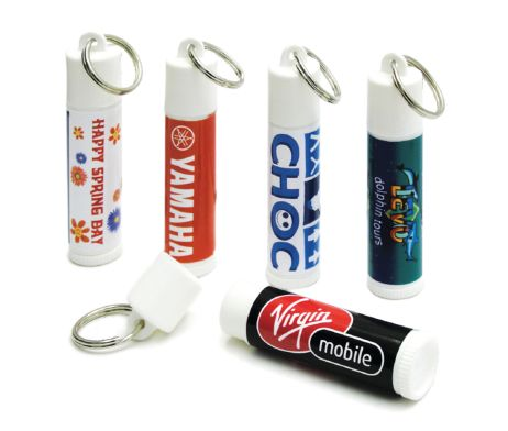 Keyring Lipbalm #brandability #promotionalgifts #lipbalm