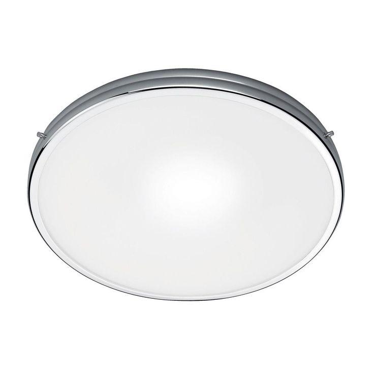 - Fix 30 Deckenleuchte - weiß/chrom/matt/H 6.5cm/Ø 30cm