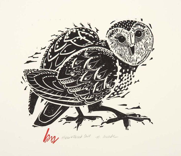 Heart Faced Owl - Holly Meade
