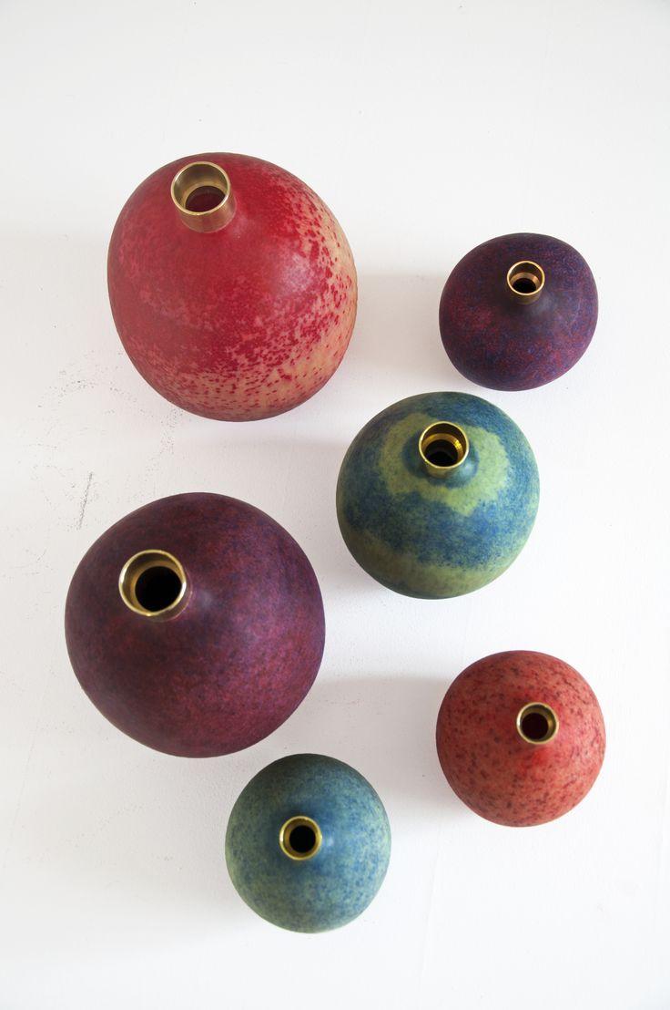 Make&Mold RYB | Pomme vases | Handmade Industrials