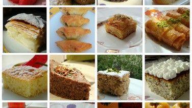 Şerbetli  tatlı tarifleri (bayram tatlıları)