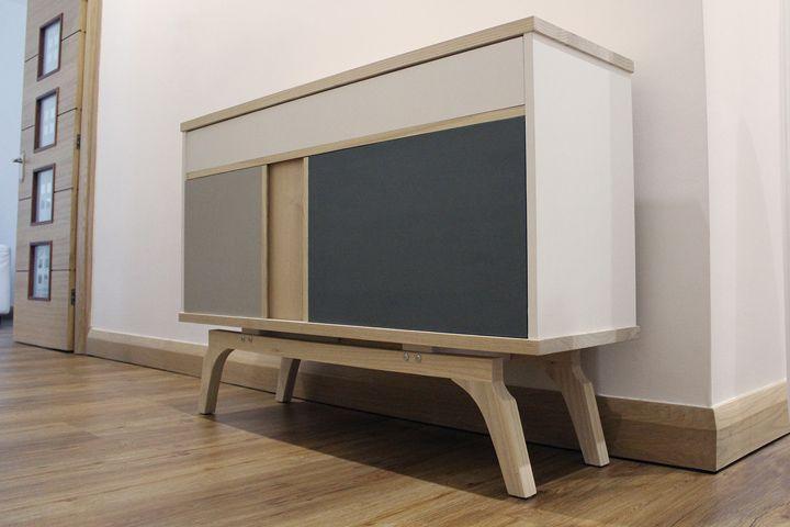 Self-Assembly: Smith Sideboard by Jon Clark