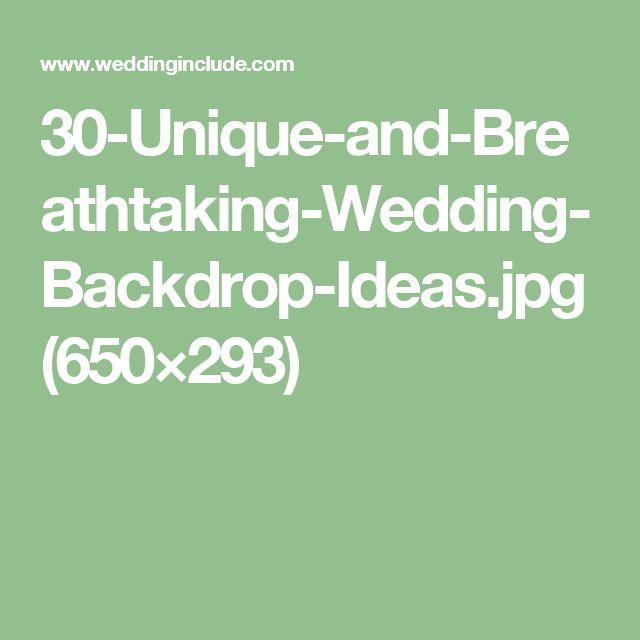 30-Unique-and-Breathtaking-Wedding-Backdrop-Ideas.jpg (650×293)