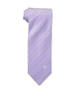 67% OFF Versace Men's Dotted Tie, Purple