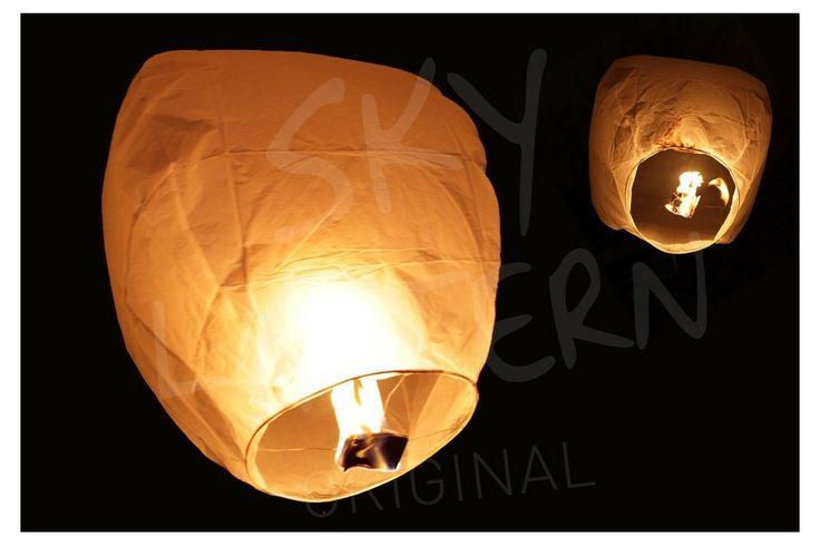 Lanterne volante Balloon Blanc à partir de 3.20 euros