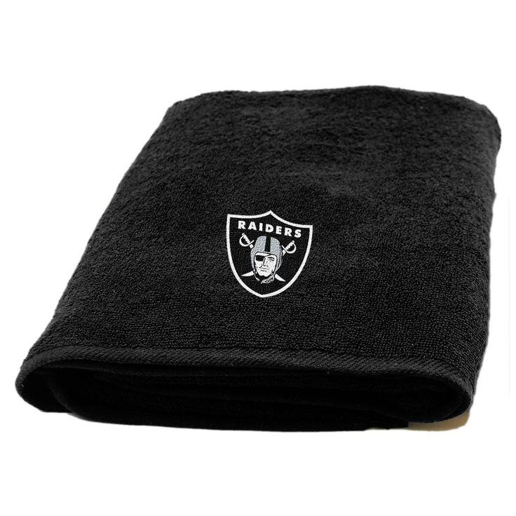 NFL Raiders Applique Beach Towel