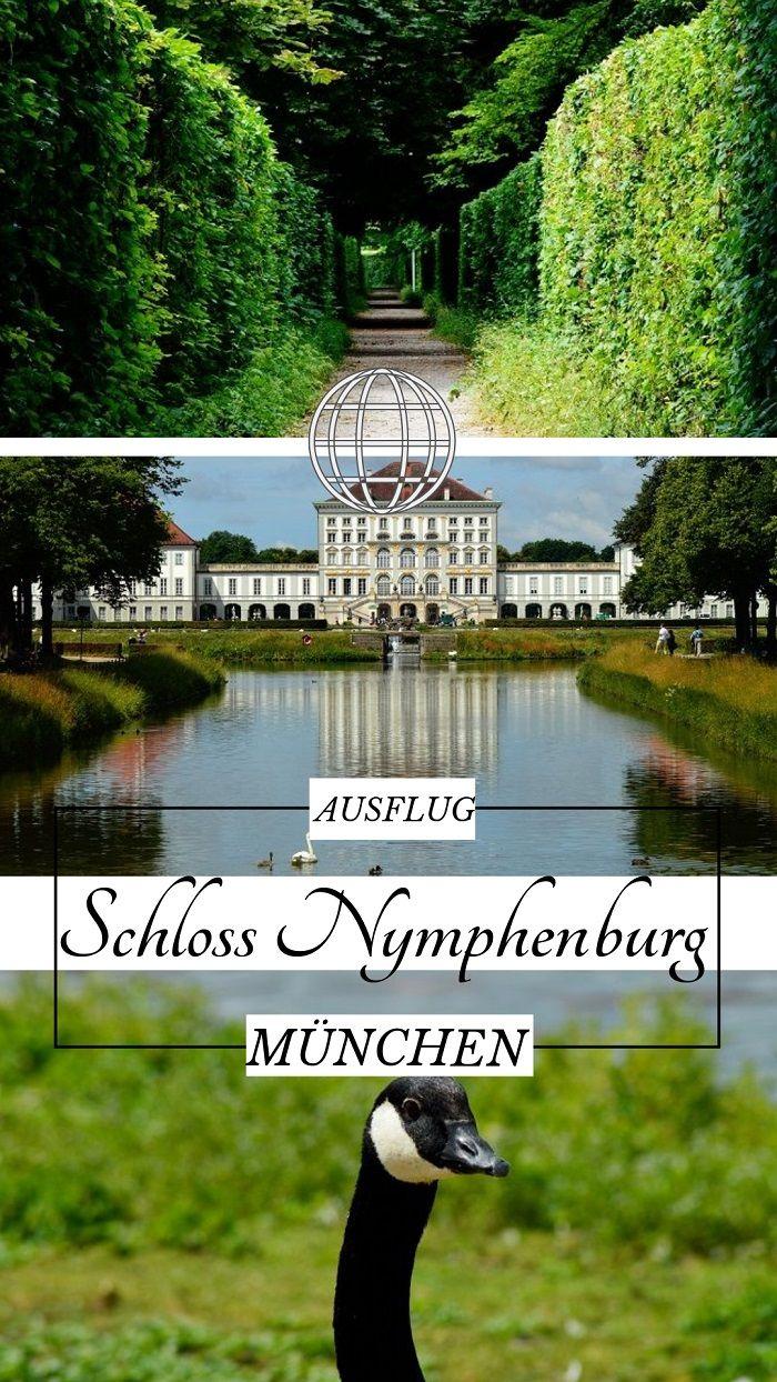 Kennst du schon Schloss Nymphenburg? Ein herrliches Schloss direkt in München.