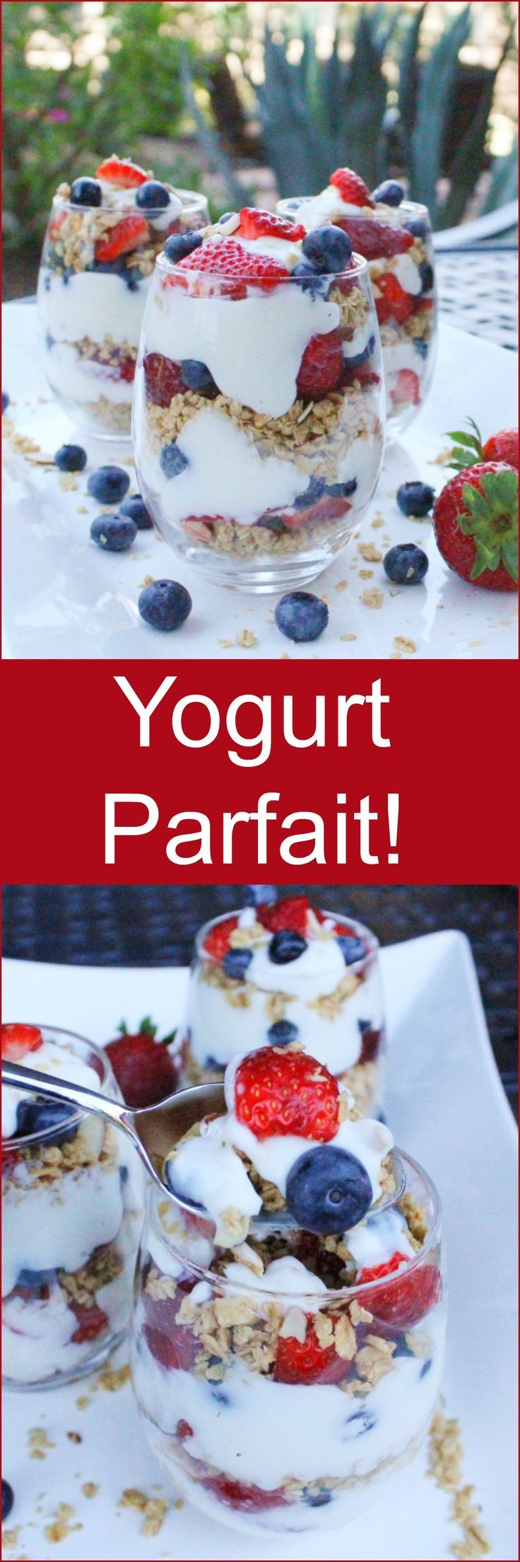 Yogurt Parfait! Easy Camping Breakfast!
