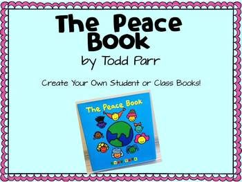 Read The Peace Book by Todd Parr to your class and create your own books! This simple book about taking care of the world and accepting all people is wonderful to read in any classroom. Students can then create their own books with their own ideas about what peace means to them.