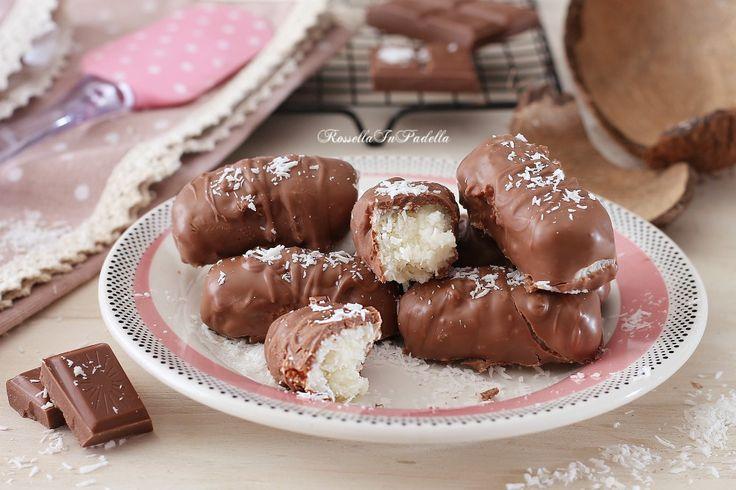 Cioccolatini al cocco con solo 3 ingredienti