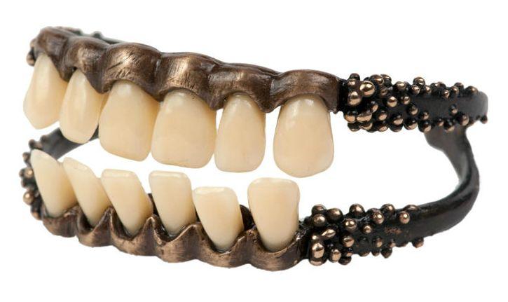 Danielle Nicole bracelet of teeth @Bethany Sihaya