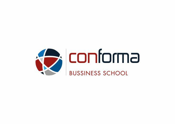 Logotipo desarrollado para Conforma Business School