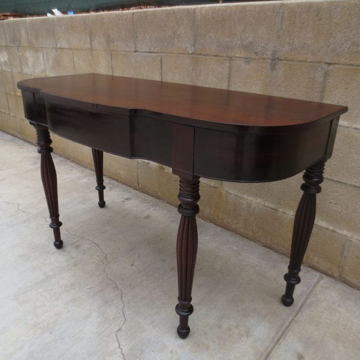 Antique sofa Table for Sale - Rustic Home Office Furniture Check more at http://www.nikkitsfun.com/antique-sofa-table-for-sale/