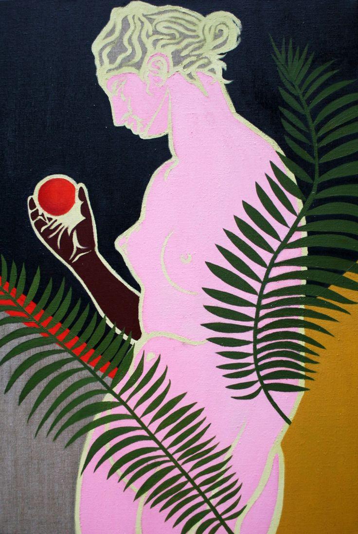 Thea Govorchin, Aphrodite with Tangerine, 2013