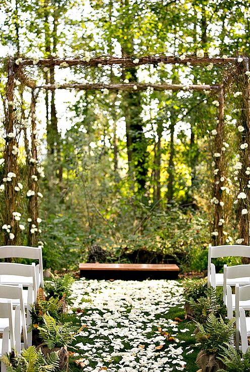 Wedding in the Woodland