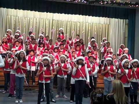 """Rockin' Around the Christmas Tree"" Gates Street Elementary Chorus"