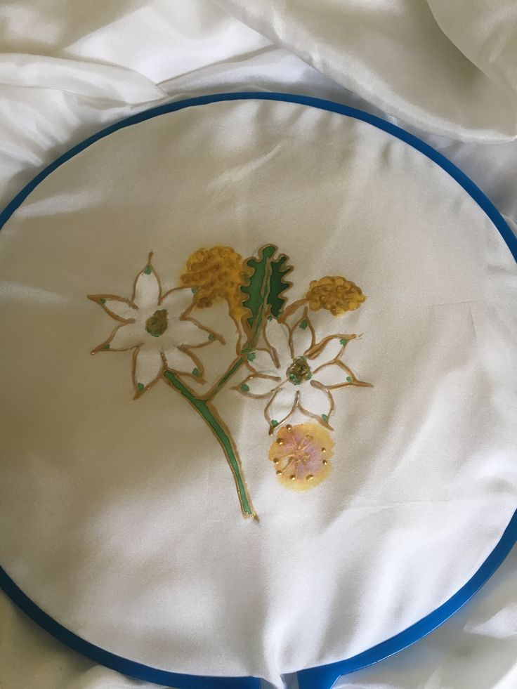 Wedding Silk Flannel Flowers & Wattle