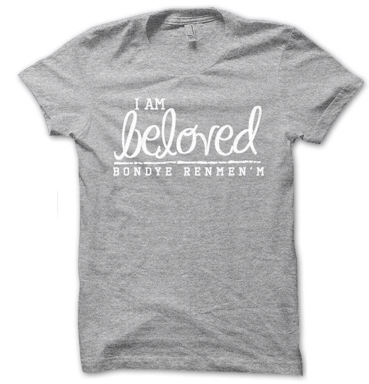 Christian t shirts http://etsy.com/shop/iambelovedtees