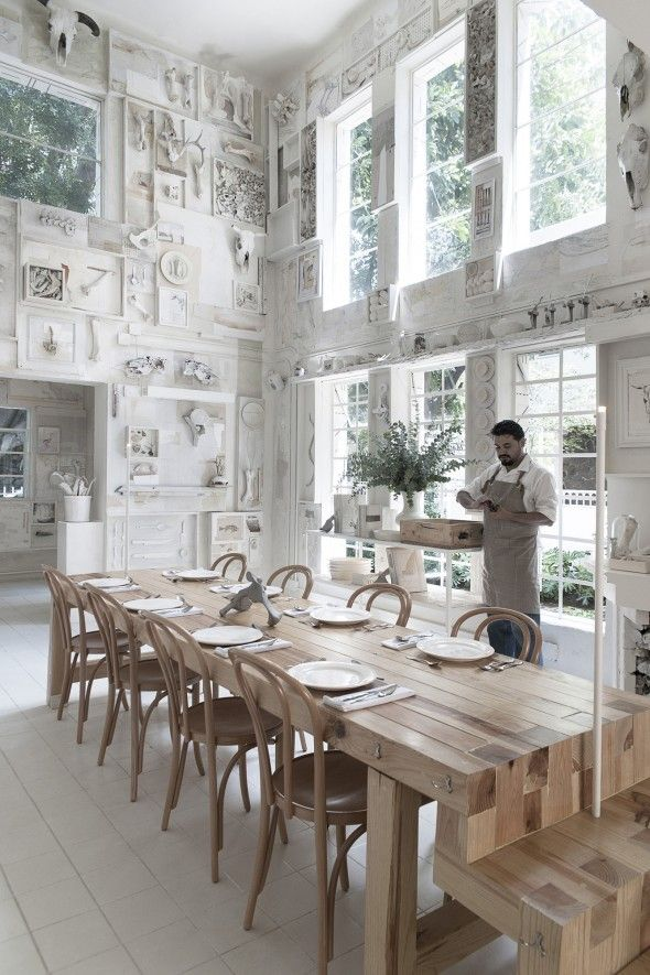 Hueso Restaurant / Cadena Asociados | AA13 – blog – Inspiration – Design – Architecture – Photographie – Art