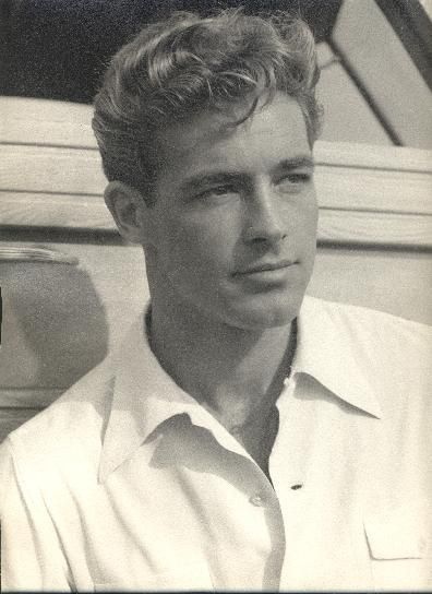 Guy Madison, 1940s // AKA Robert Ozell Moseley    Born: 19-Jan-1922  Birthplace: Bakersfield, CA  Died: 6-Feb-1996  Location of death: Palm Springs, CA  Cause of death: Emphysema