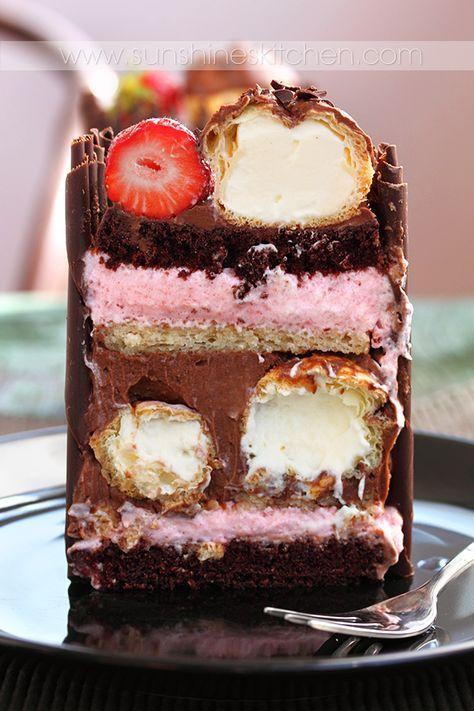 Шоколадный торт Болгария