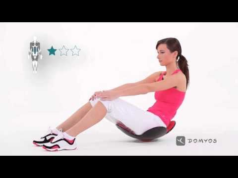 ESERCIZIO VIDEO: ABDO GAIN   Domyos by Decathlon