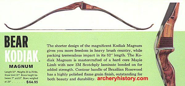 Pirates Of Archery View topic - Kodiak Magnum