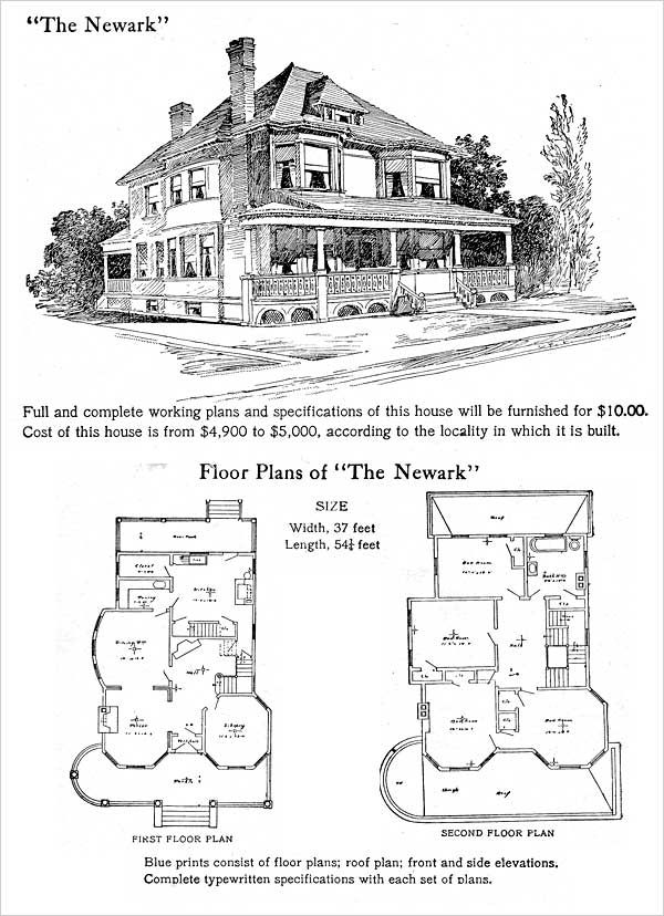 231 best Historic house plans images on Pinterest | Vintage houses ...