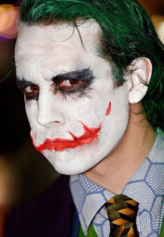 joker batman halloween schminktipps ideen für männer