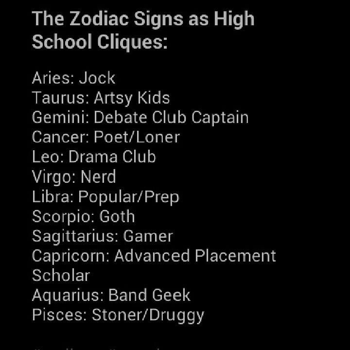 I got debate team captain (suits me really well) but I'm also part of the poet/loner group so idk
