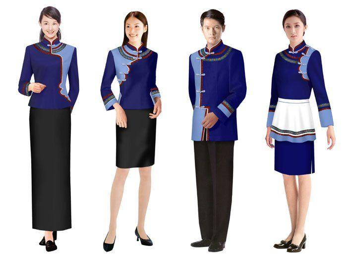 Best 25 hotel uniform ideas on pinterest spa uniform for Spa employee uniform