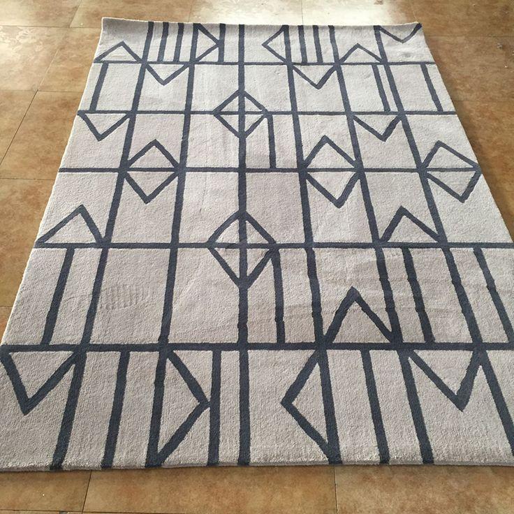Ковер ручной работы акриловые ковры ковер для гостиной журнальный столик диван ковер современный краткий купить на AliExpress