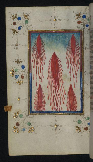 Illuminated Manuscript, Book of Hours, Walters Art Museum Ms. W.165, fol. 110v by Walters Art Museum Illuminated Manuscripts, via Flickr