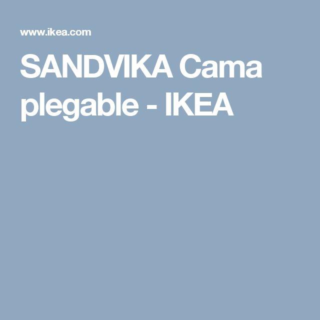 M s de 25 ideas incre bles sobre cama plegable ikea en for Sandvika ikea