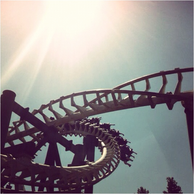 Life is à rollercoaster.....
