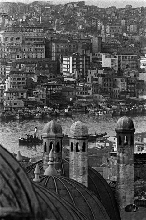 Magnum Photos- Ara Guler TURKEY. 1956. Istanbul, the Golden Horn.